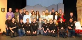 "Monday 13th April 2015 - Lislea Dramatic Players - Cast & Crew of ""Tea In A China Cup"""