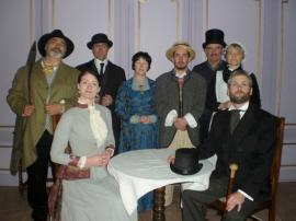 "Cast of ""13 Rue De L'Amour"" -Brideview Drama Group 2014"