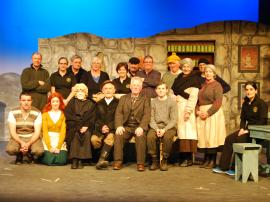 "Wed 24th Feb 2016-Cast & Crew of Ballycogley Players ""The Cripple of Inishmaan"""