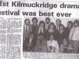 "Kilrush Drama Group 1981 ""Sharon's Grave"""