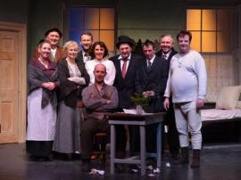 "Fri 24th Feb 2017 -Cast of ""Shadow of a Gunman"" performed by Kilmuckridge Drama Group (Matt Furlong missing from photo)"