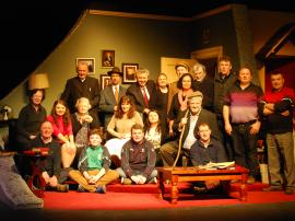 "Sun 21st Feb 2016-Cast & Crew of Kilmuckridge Drama Group ""Where He Lies"""