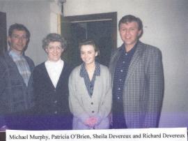 Michael Murphy, Patricia O'Brien, Sheila Devereux & Richard Devereux