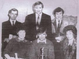 Members of Kilmuckridge Drama Group