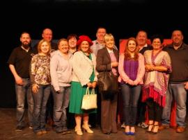 "Friday 17th April Sillan Players 2015 cast & crew ""The Lost Weekend"""