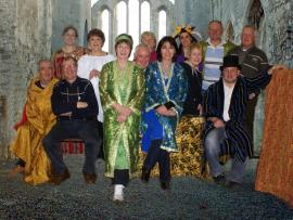 "2013 Ballycogley Drama Group Cast Members of Shakespeare's ""Comedy of Errors"" adapted by Fintan Murphy"