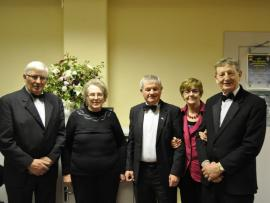 Members of the Festival Committee at the 55th Kilmuckridge Drama Festival