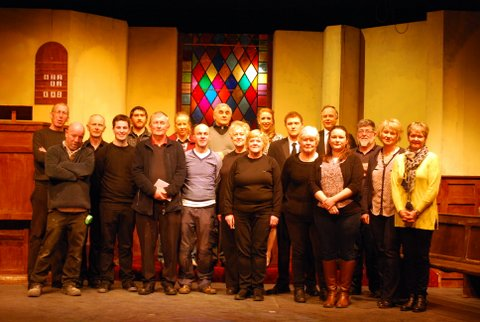 "Thurs 25th Feb 2016 -Cast & Crew Bunclody/Kilmyshall Drama Group ""Moonshine"""