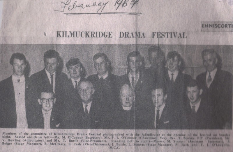 1967 Kilmuckridge Drama Festival