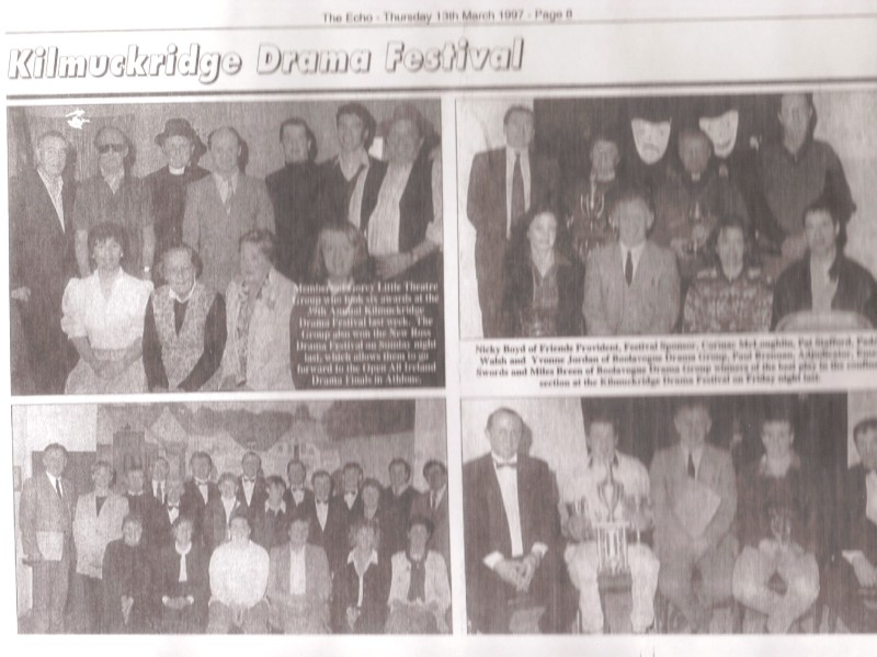 1997 Kilmuckridge Drama Festival