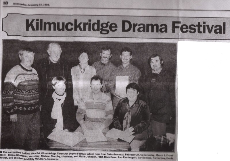 1999 Kilmuckridge Drama Festival